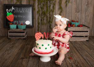 Affordable Cake Smash Photographer Carmel Indiana