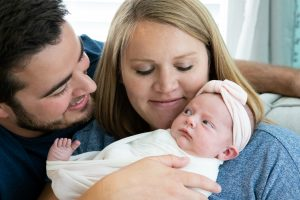 Affordable Lifestyle Newborn Photographer Fishers Indiana