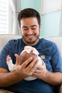 Affordable Lifestyle Newborn Photographer Noblesville Indiana