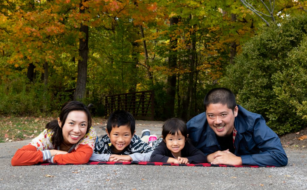 Seasonal Family Photo Session Carmel