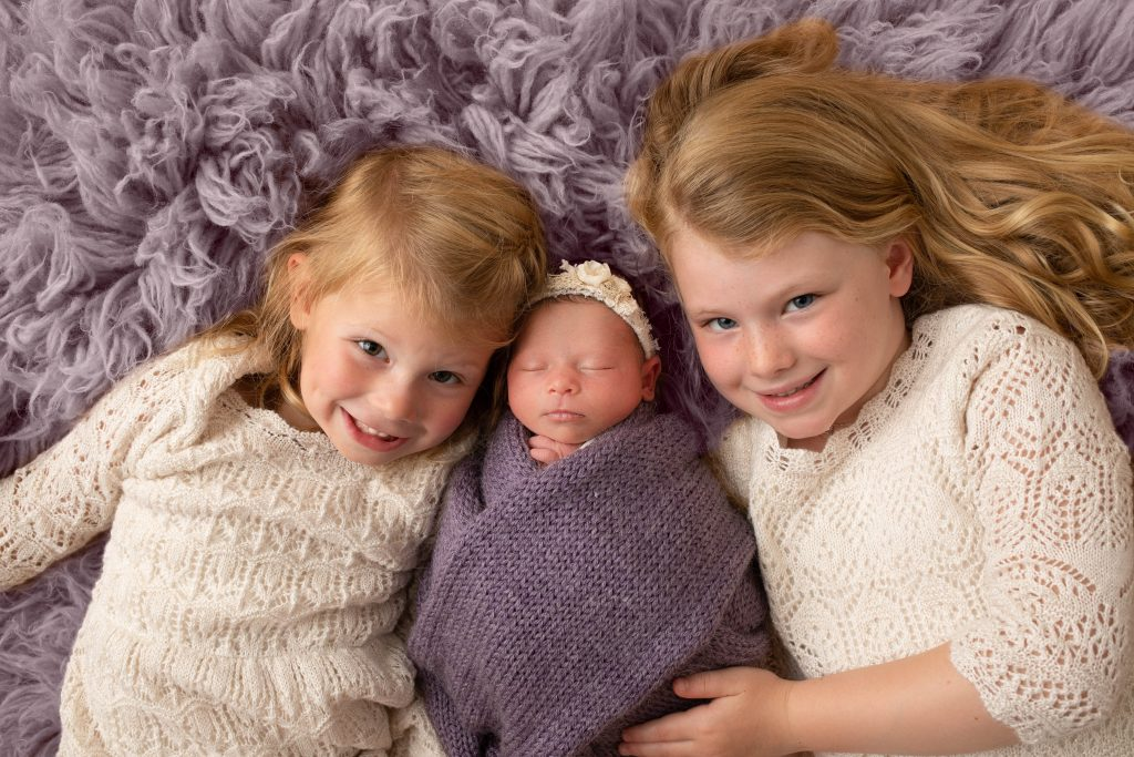 Newborn Photographer Studio Carmel Indiana