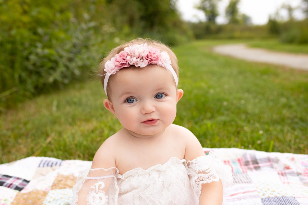 Milk Bath Baby Photo Session Carmel Indiana