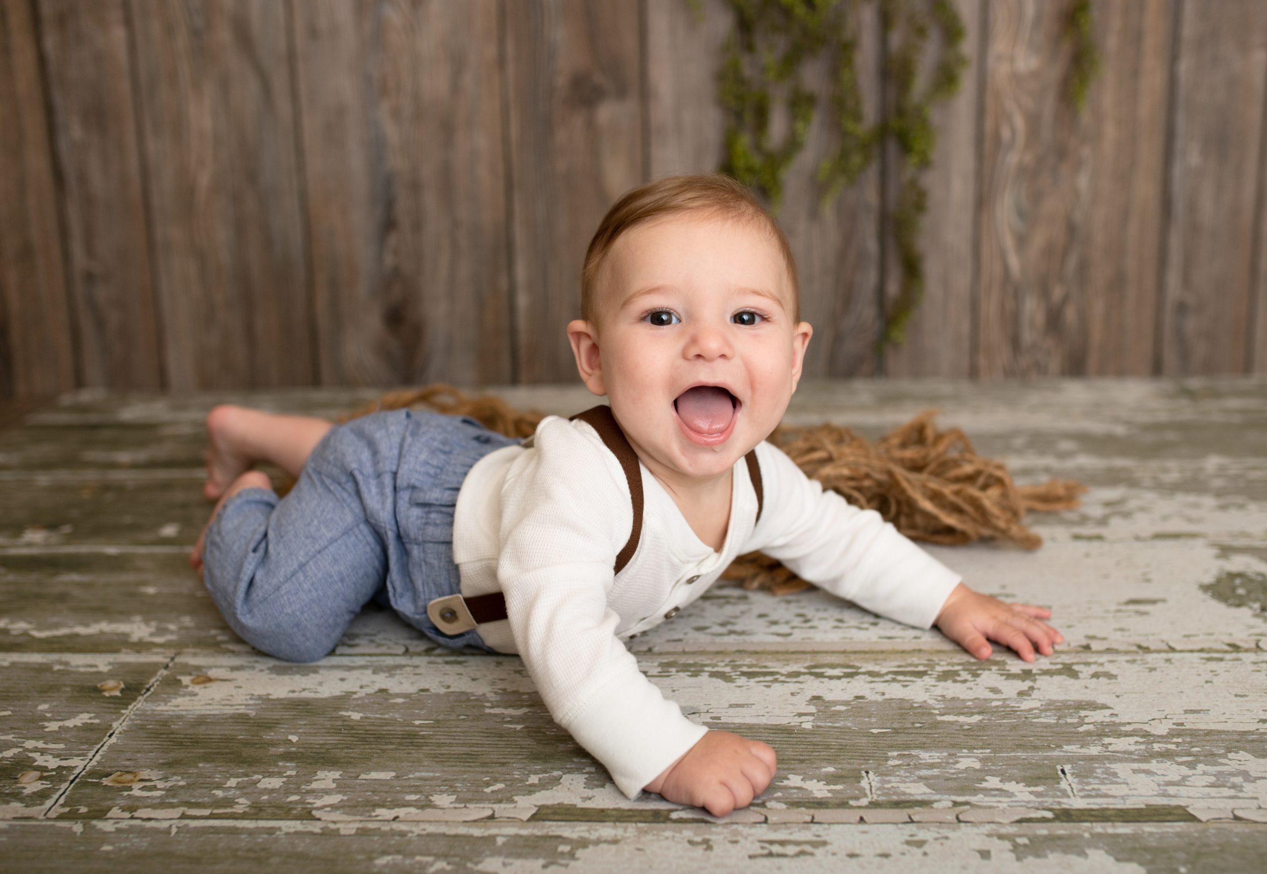 Studio Baby Photographer Carmel Indiana