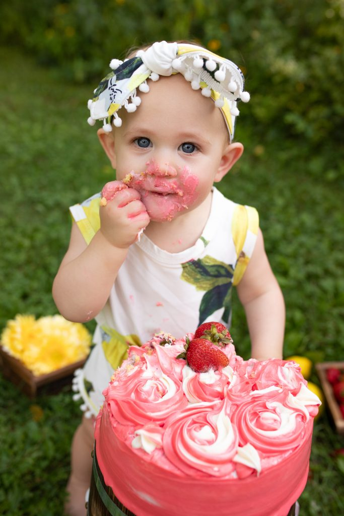 First Birthday Pictures Carmel Indiana