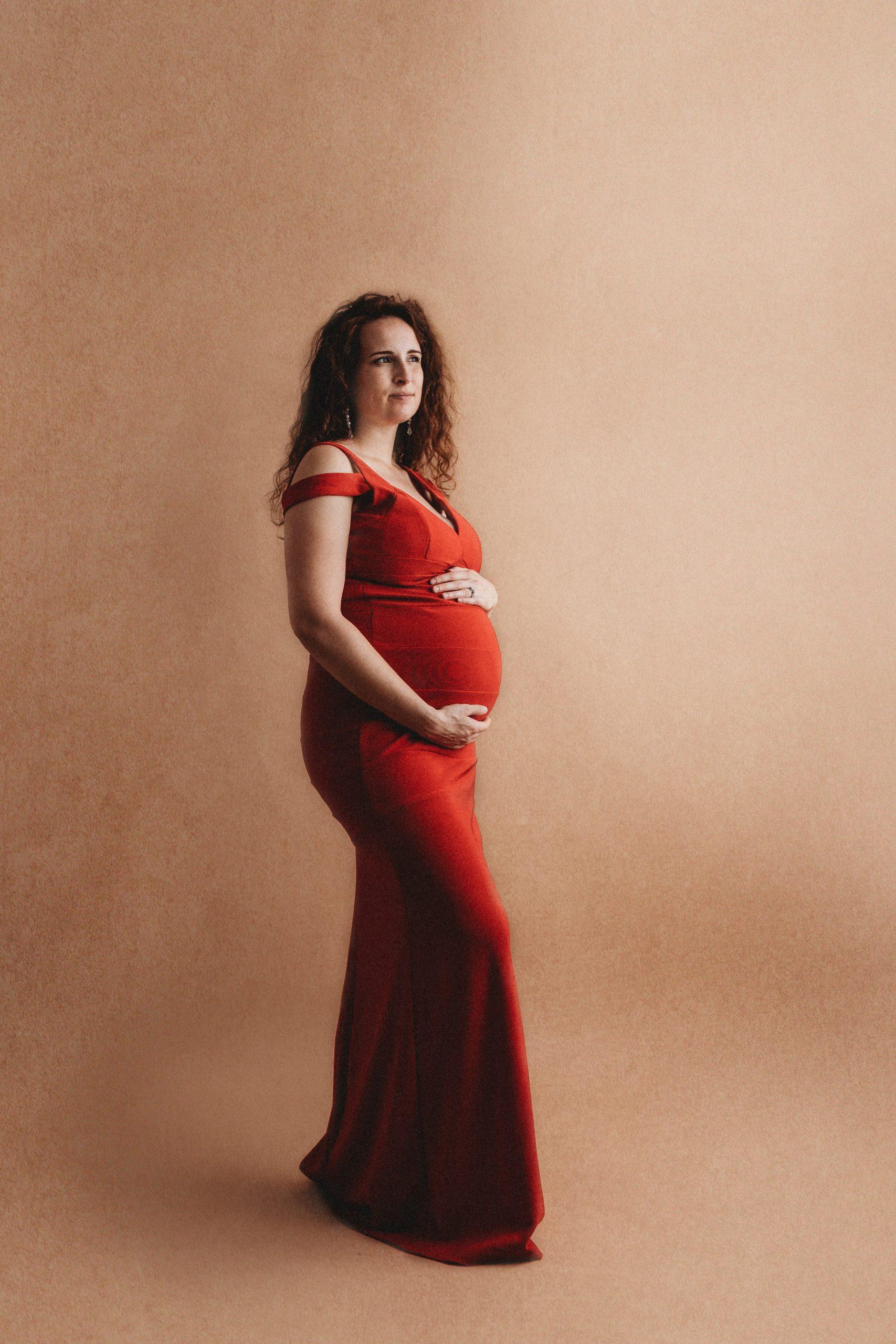 Indianapolis Indiana Studio Maternity Photographer
