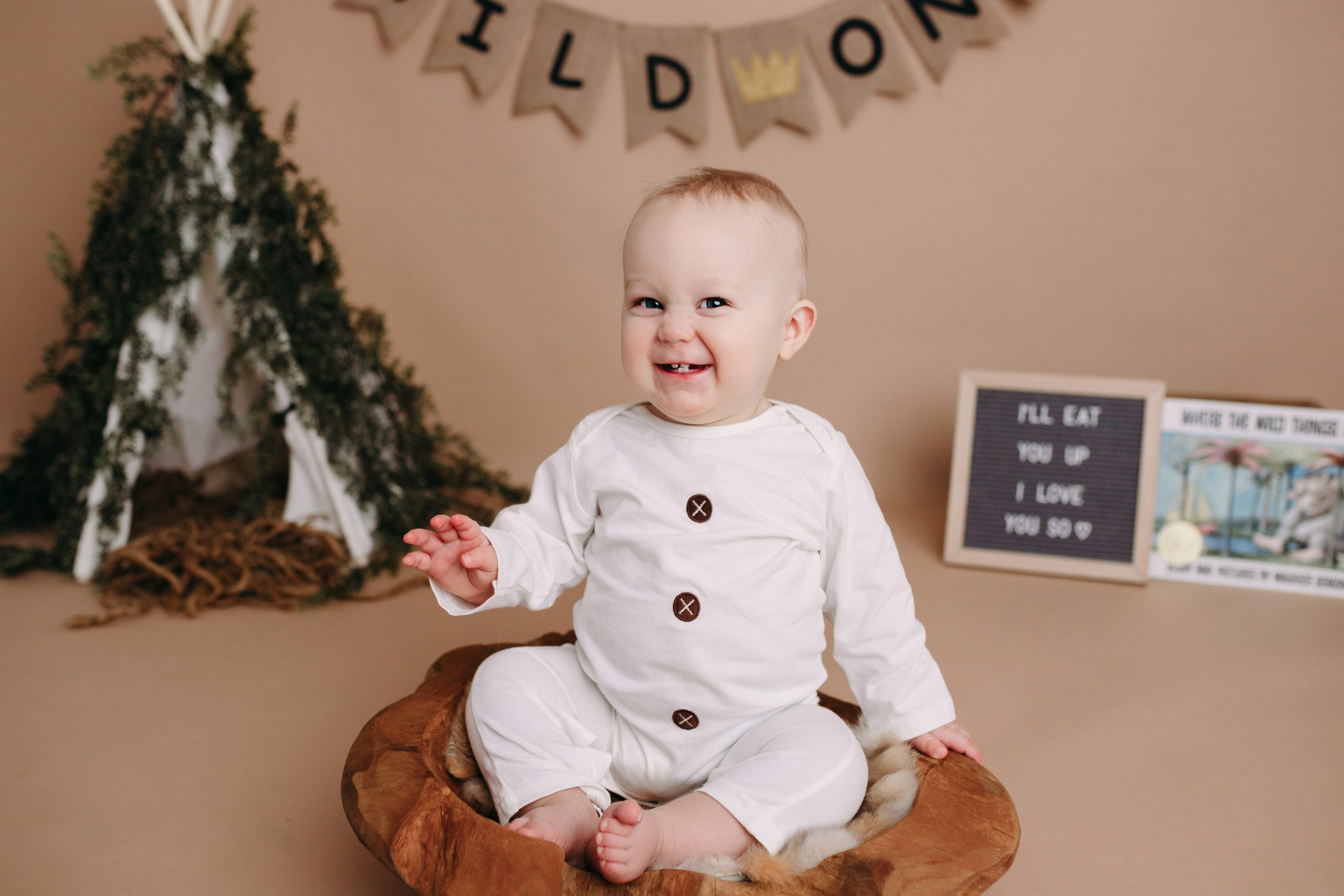 Indianapolis Indiana First Birthday Photography