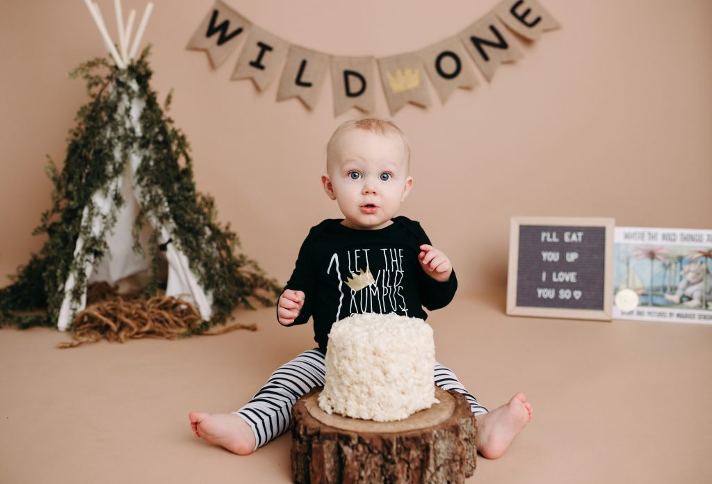 Indianapolis IN First Birthday Photography Studio