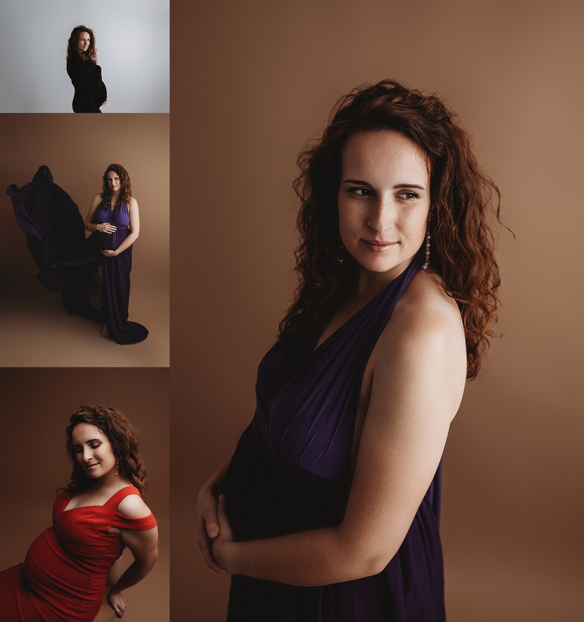 Indianapolis IN Fine Art Maternity Studio Photographer