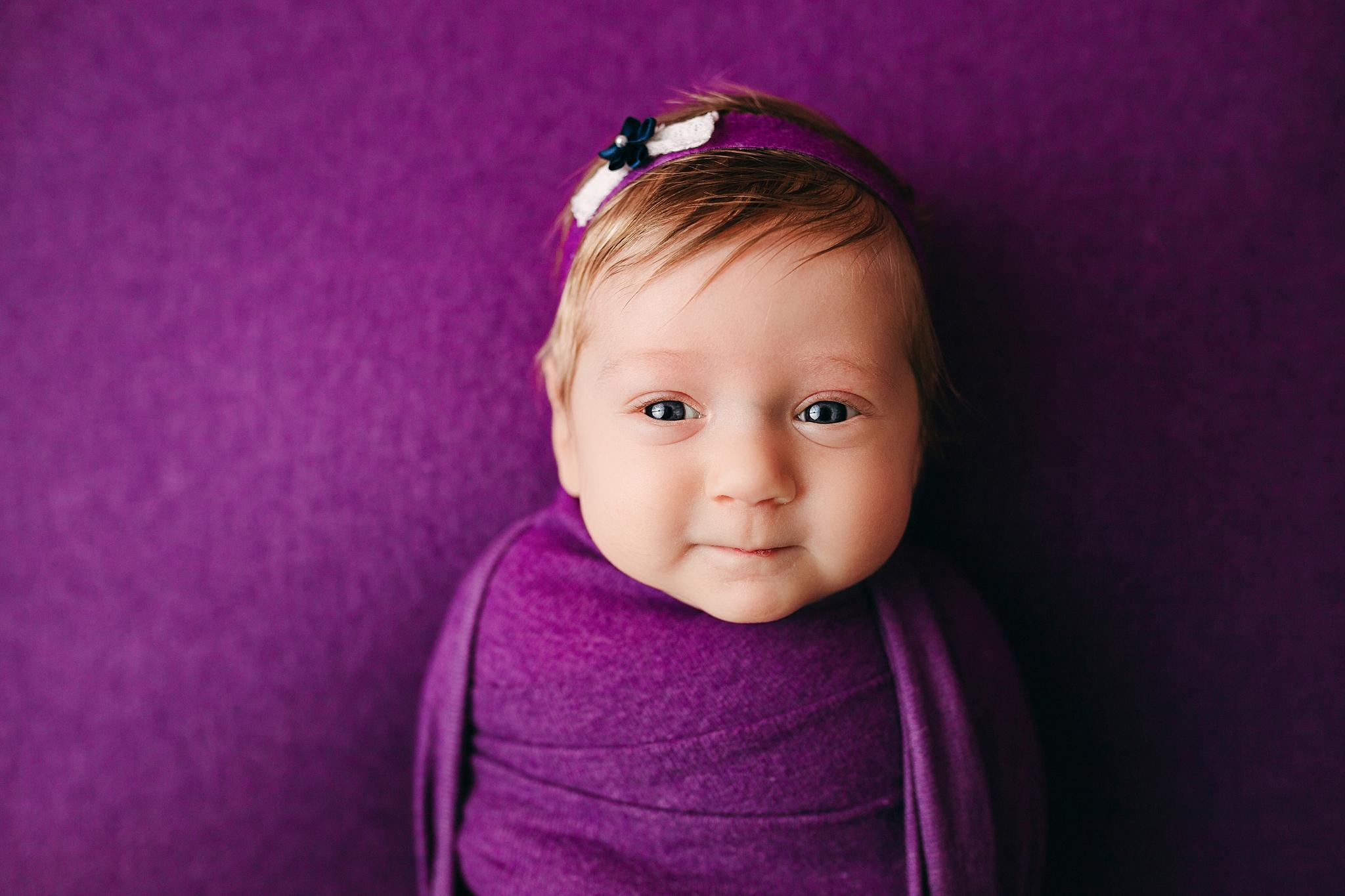 Indianapolis Indiana Baby Milestone Photography Studio Photos
