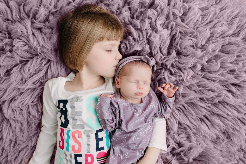 Carmel Indiana Newborn Photo Session