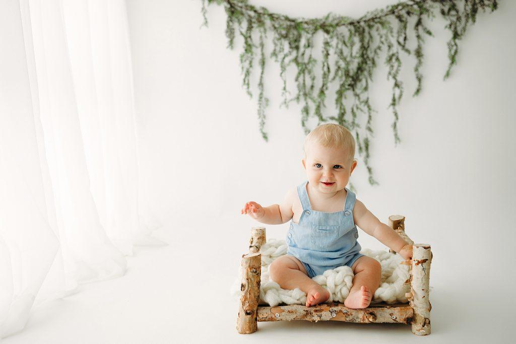 Best Indianapolis IN Baby Milestone Photographer