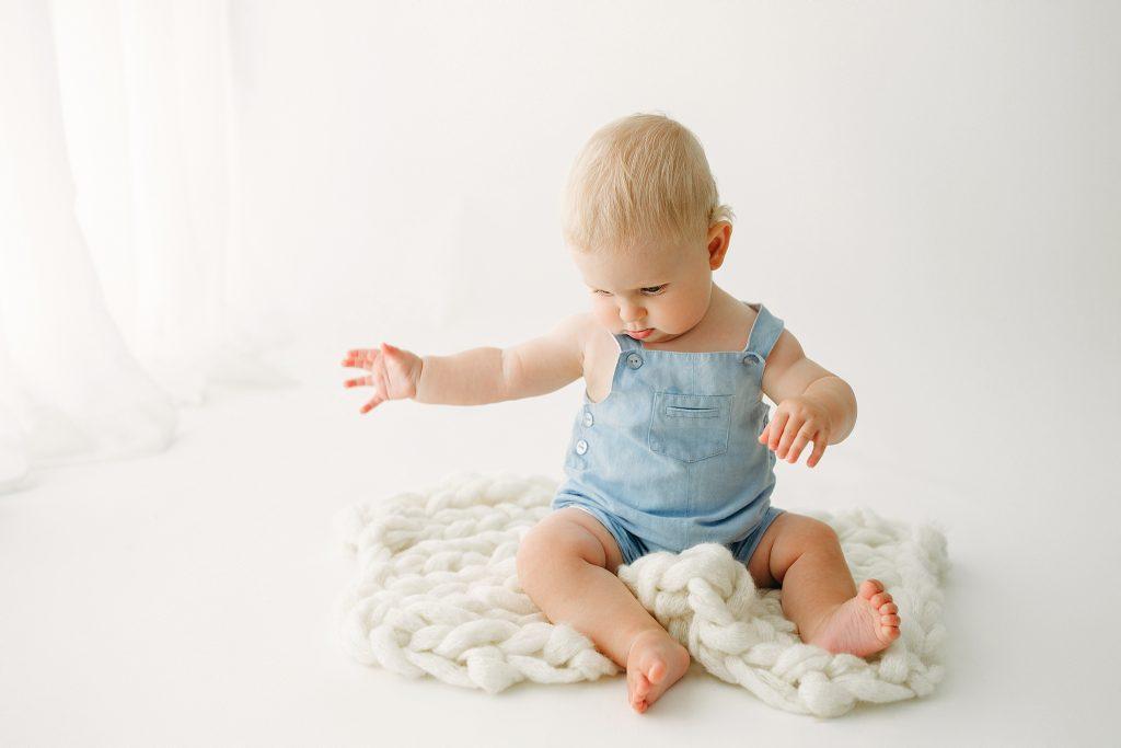 Indianapolis IN Baby Milestone Photography