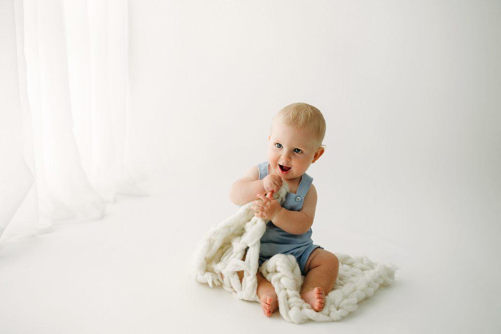 Indianapolis IN Best Studio Baby Milestone Photographer